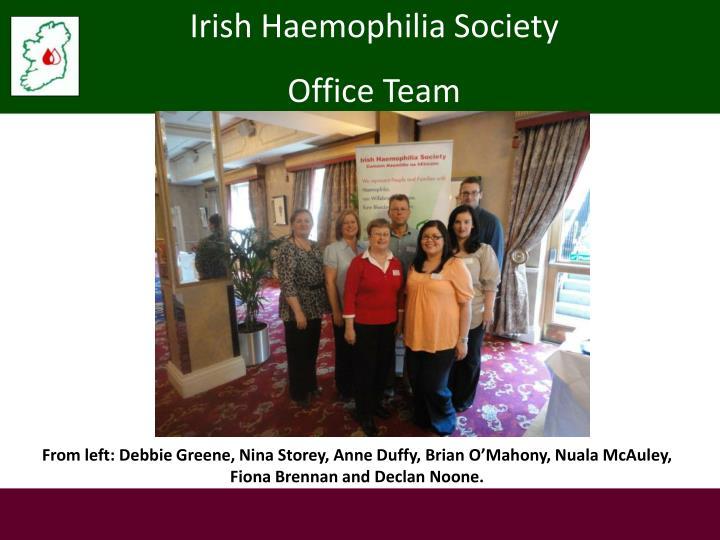 Irish Haemophilia Society
