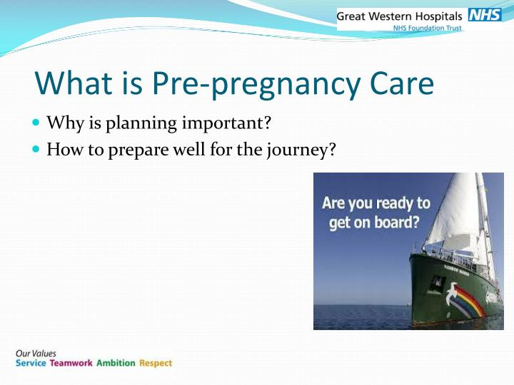 What is Pre-pregnancy Care