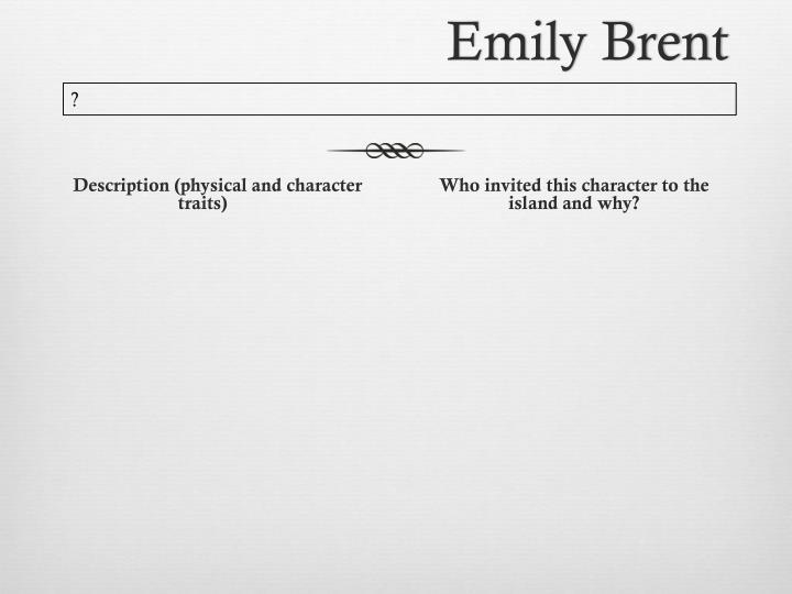 Emily Brent