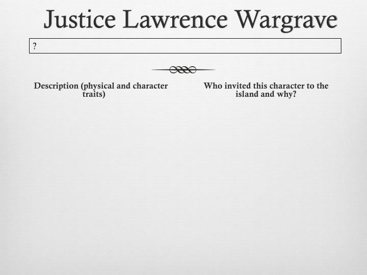 Justice Lawrence