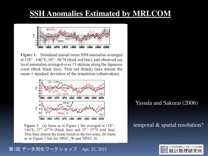 SSH Anomalies