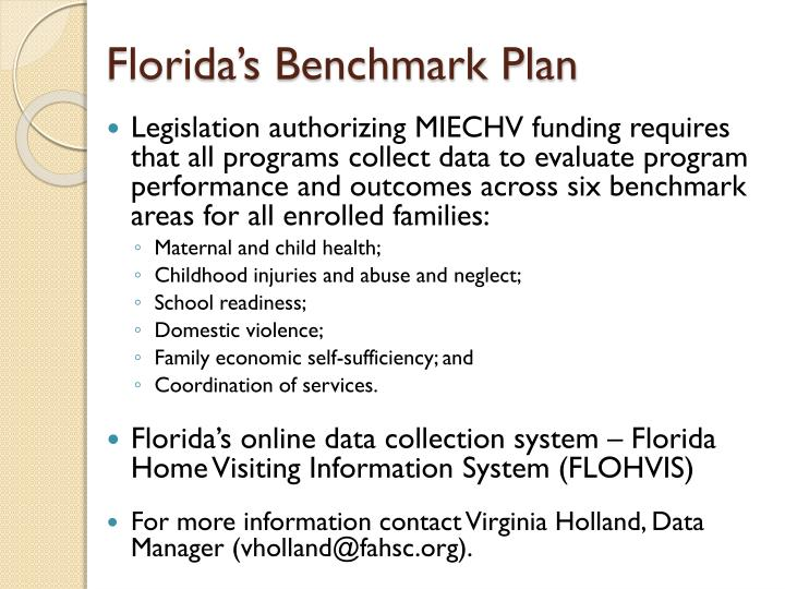 Florida's Benchmark Plan