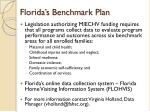 florida s benchmark plan