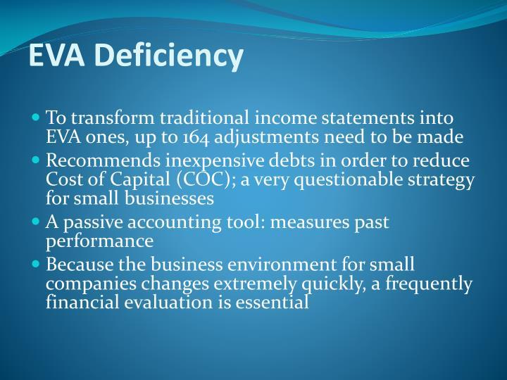 EVA Deficiency