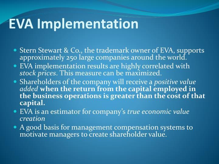 EVA Implementation