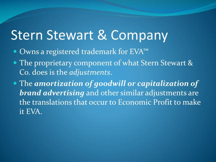 Stern Stewart & Company