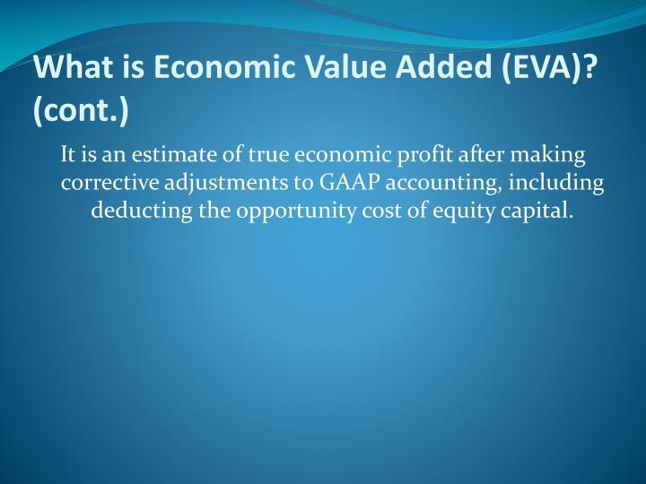 What is Economic Value Added (EVA)?
