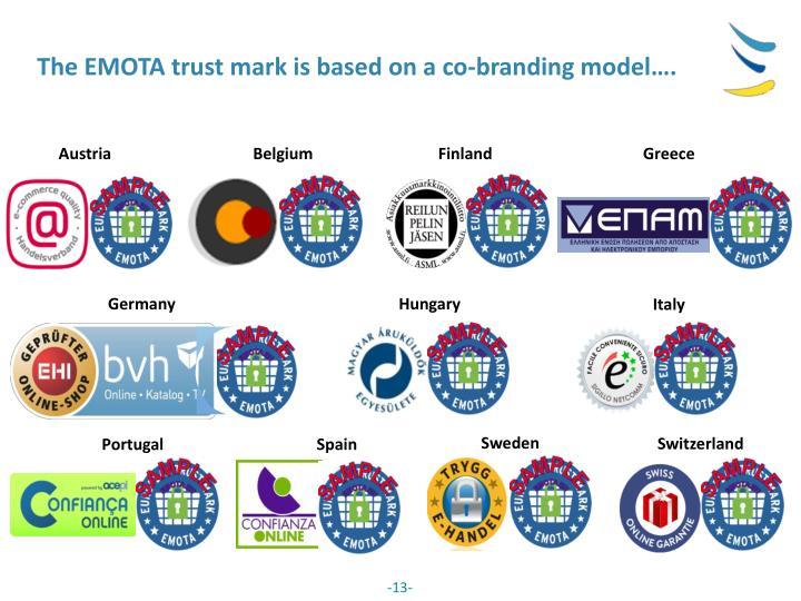 The EMOTA trust mark
