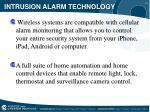 intrusion alarm technology10