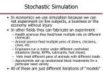 stochastic simulation1