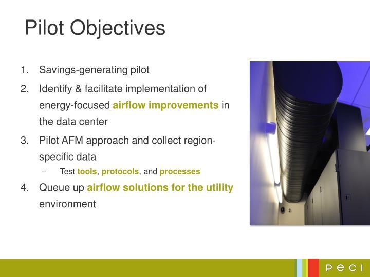Pilot Objectives