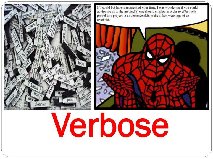 Verbose