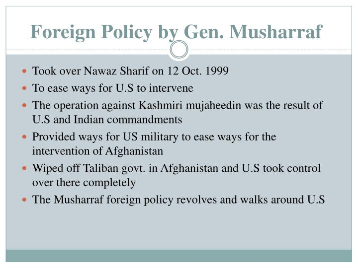 Foreign Policy by Gen.