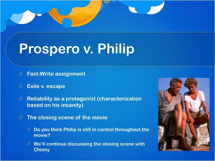 Prospero v. Philip