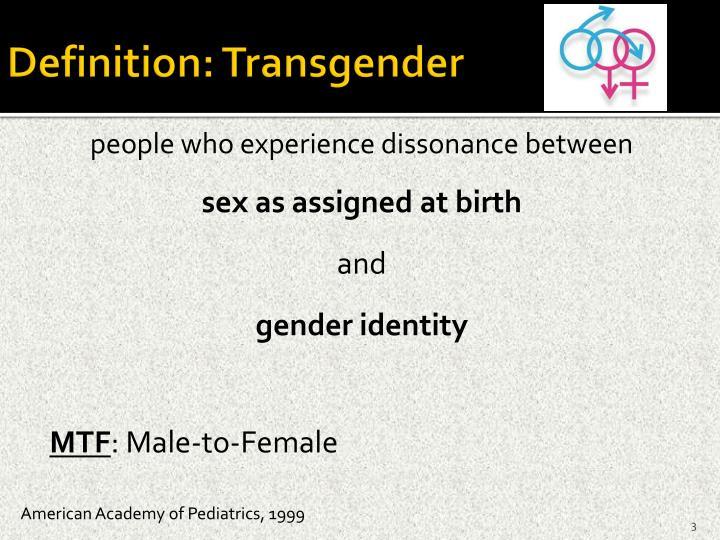 Definition: Transgender