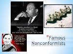 famous nonconformists
