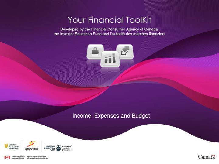 Income, Expenses and Budget
