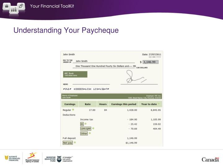 Understanding Your Paycheque