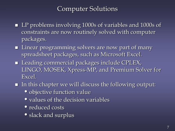 Computer Solutions