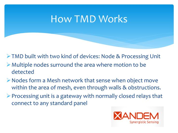 How TMD Works