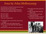 jena by john mellencamp