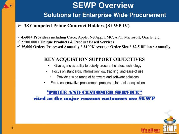 SEWP Overview