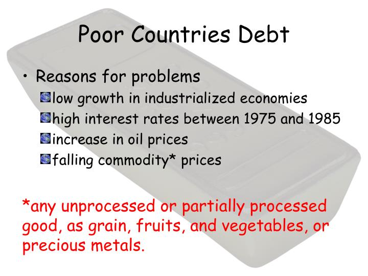 Poor Countries Debt