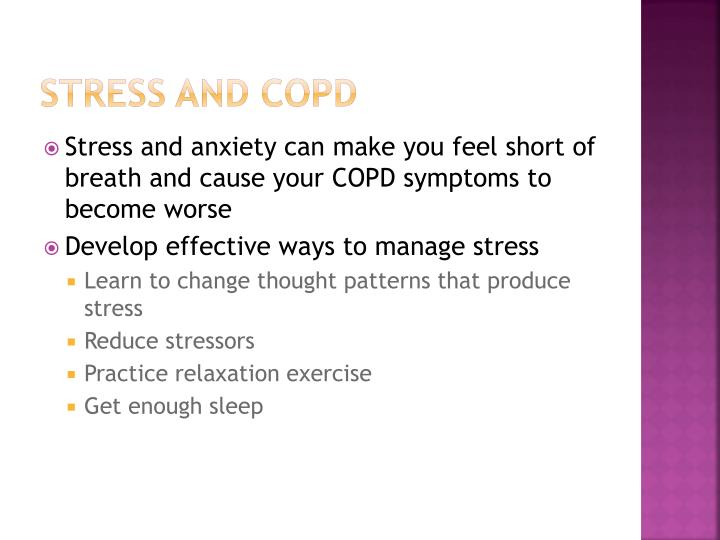Stress and COPD