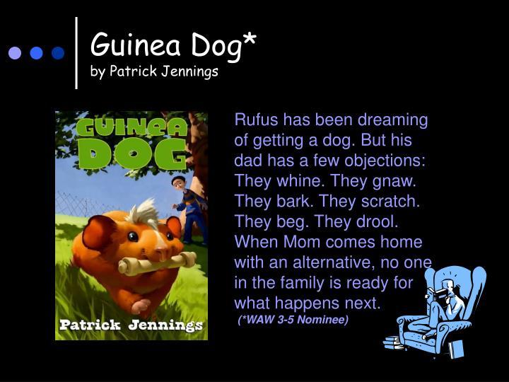 Guinea Dog*