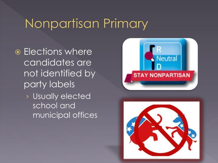 Nonpartisan Primary