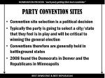 party convention sites