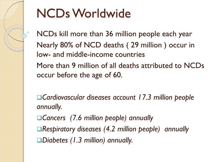 NCDs Worldwide