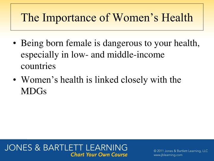 The Importance of Women's Health