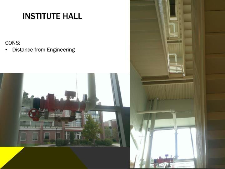 Institute hall