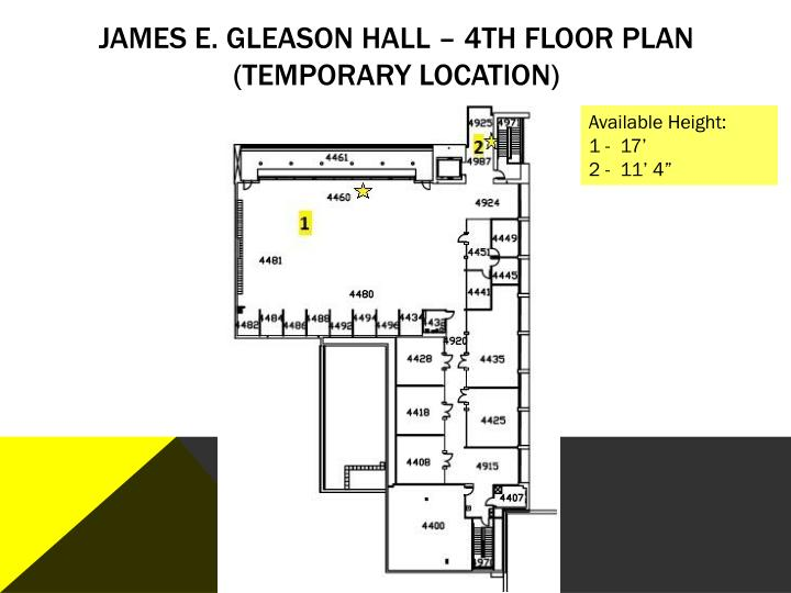 James E. Gleason Hall –