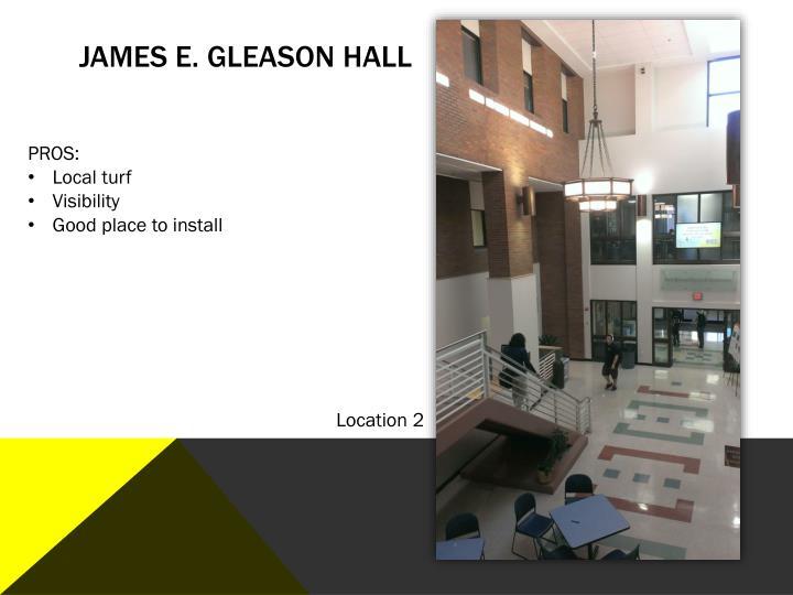 James E. Gleason Hall