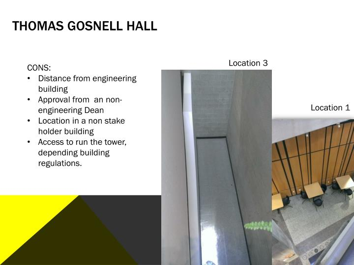 Thomas Gosnell Hall