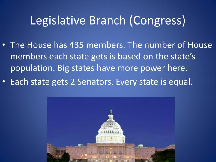 Legislative branch congress1