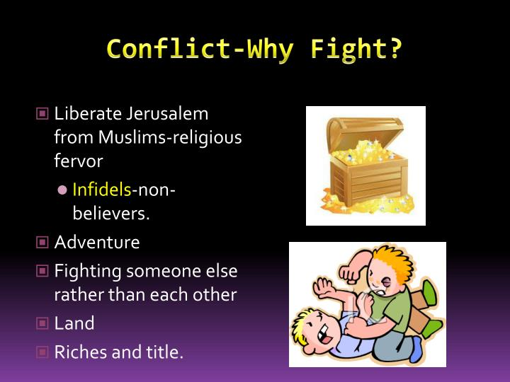 Conflict-Why Fight?