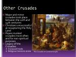 other crusades