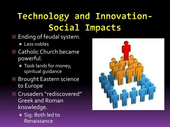 Technology and Innovation- Social Impacts