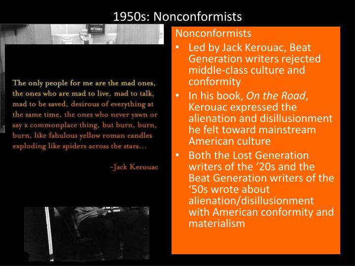1950s: Nonconformists