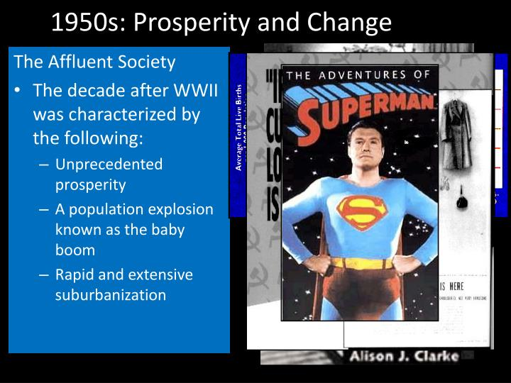 1950s: Prosperity and Change