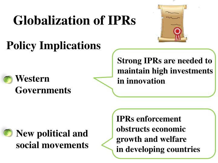 Globalization of IPRs
