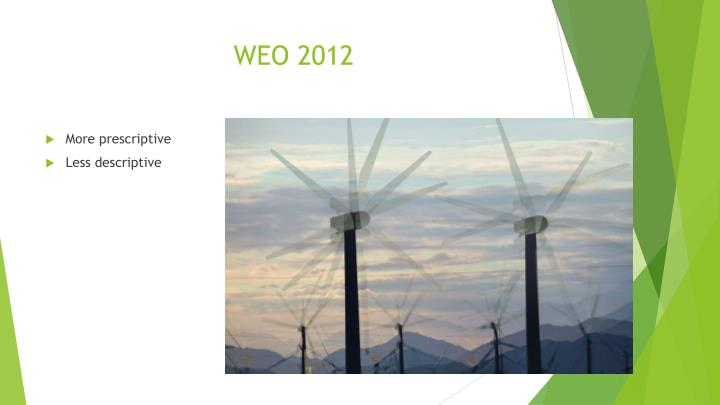 WEO 2012