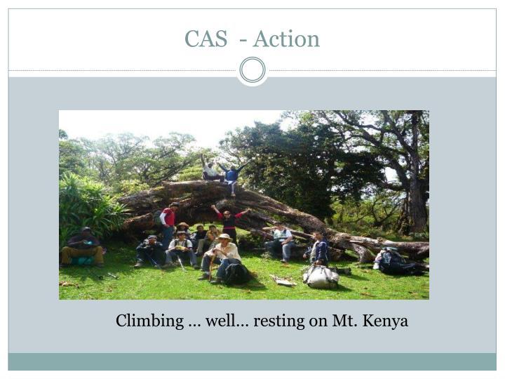 CAS  - Action