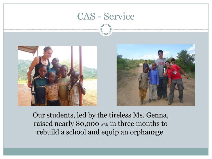 CAS - Service