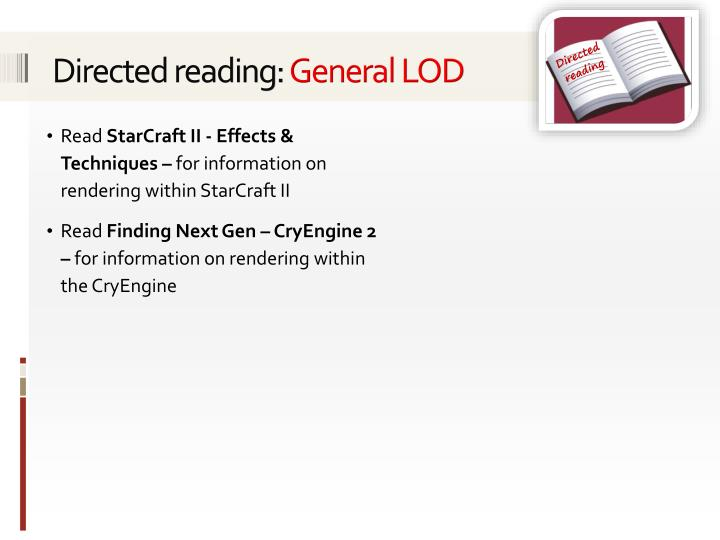 Directed reading: