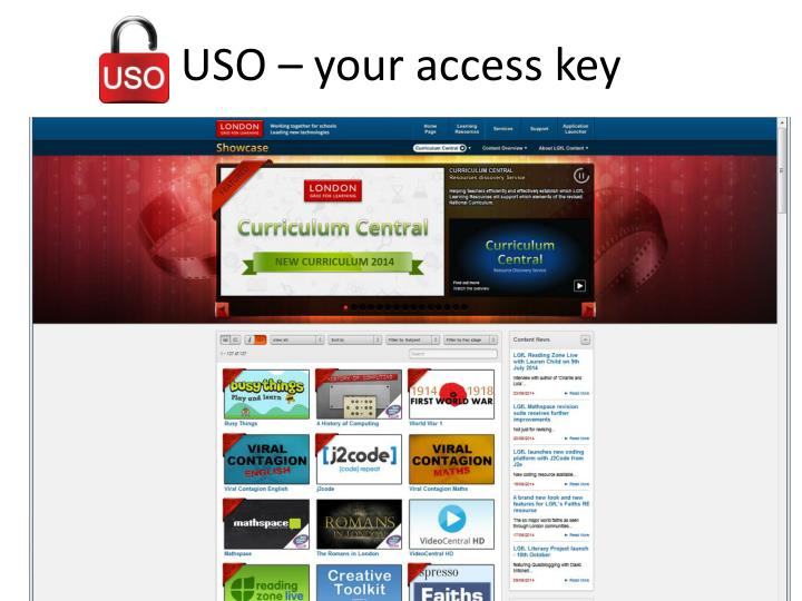 USO – your access key
