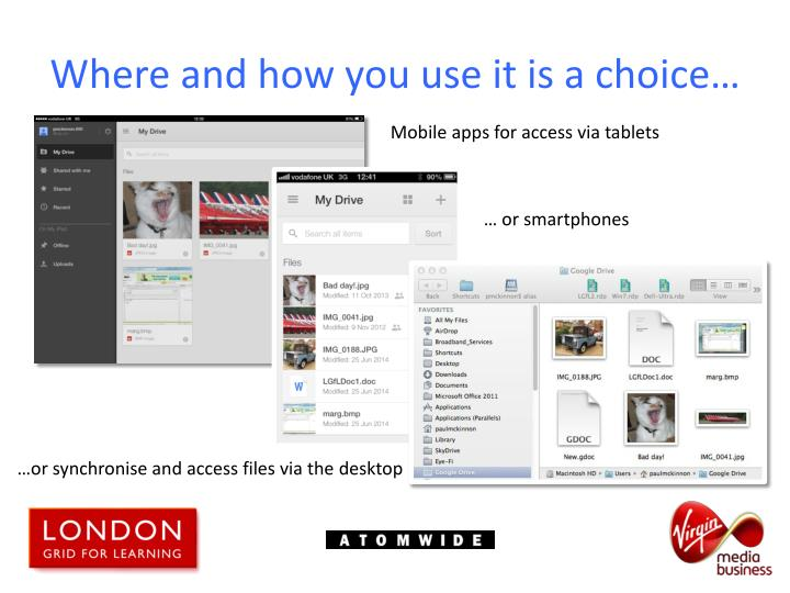 Where and how you use it is a choice…